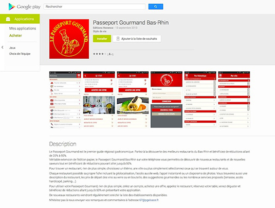 Téléchargez gratuitement notre application sur Google play en clicquant ici