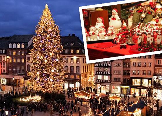 Les marchés de Noël organisés à travers notre belle Alsace