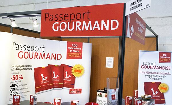 Passeport Gourmand au salon Tourissimo