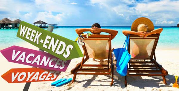 week-end, vacances, voyages