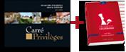Guide Carré Privilèges + Passeport Gourmand Bas-Rhin