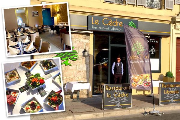 Restaurant le Cèdre à Nice