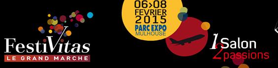 FESTIVAS 2015 du 6 au 08 fev. Parc Expo Mulhouse