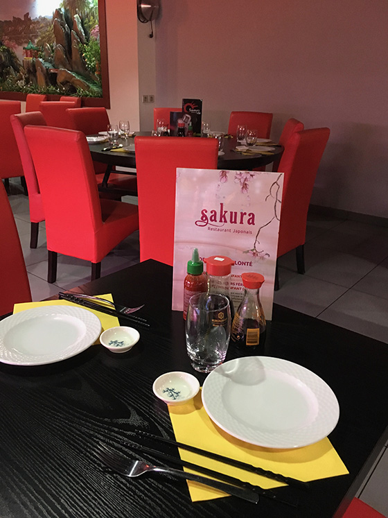 Restaurant Sakura à Colmar